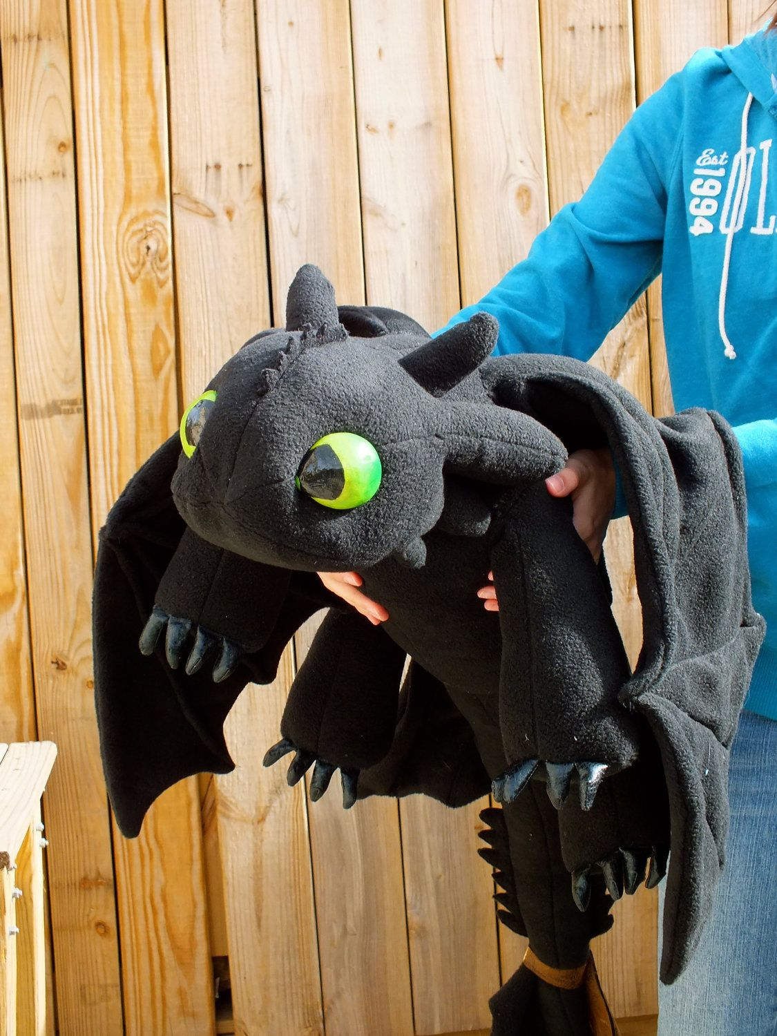 Reserved For Lisa Ciuffo Toothless Plush Dragon With Fish Stuff