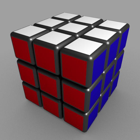 Cubic-rubic by khurshid_khujamatov 3D object file ruby for