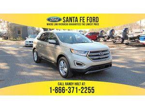 2017 White Gold Metallic Ford Edge Sel 368801 Ford Edge Ford