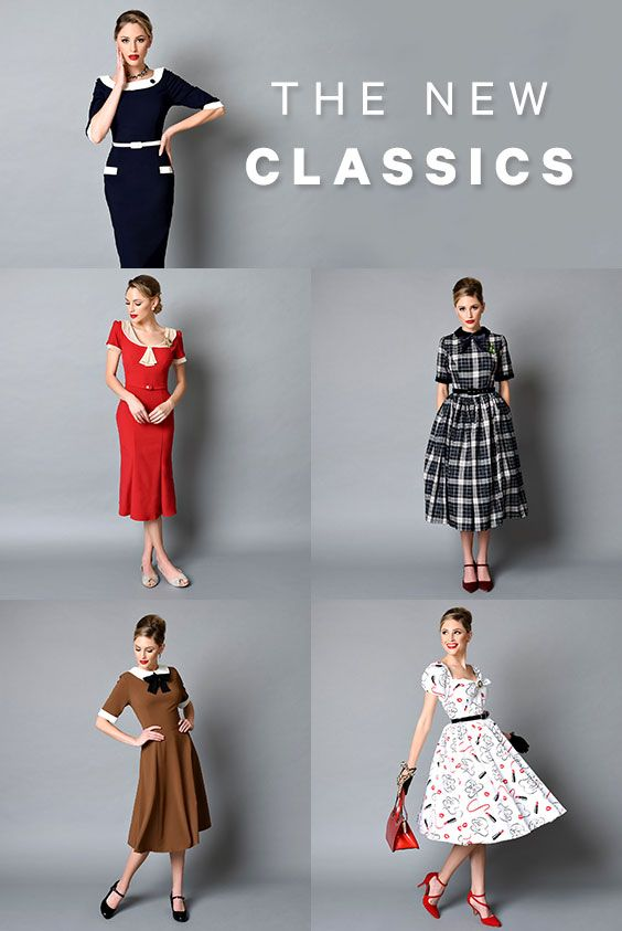 Modern Takes On The Classics That Will Never Go Out Of Style Vintage Outfits Retro Outfits Retro Fashion