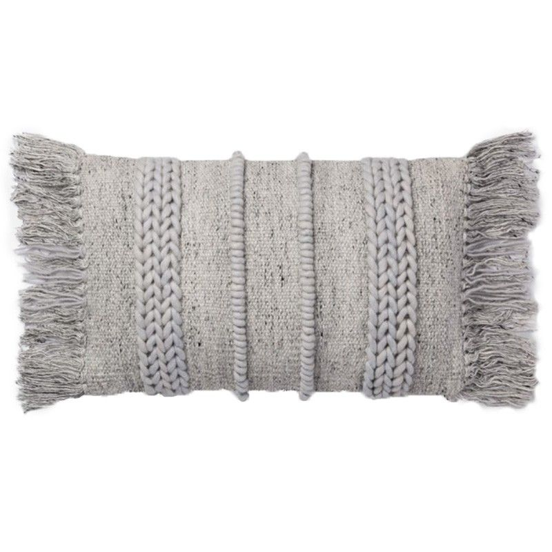 Loloi Magnolia Home Pillow Grey Grey In 40 Home Accessories Gorgeous How To Clean Decorative Pillows