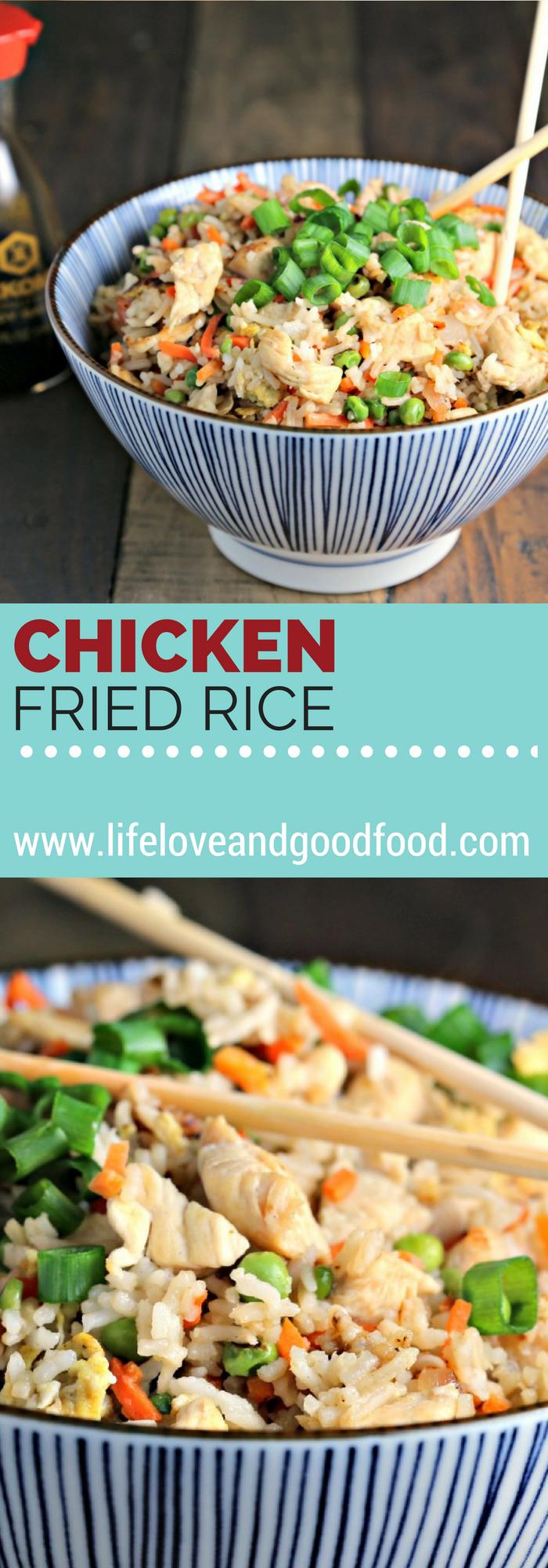 Restaurant style chicken fried rice recipe fried rice rice and chicken fried rice life love and good food recipe dinner forumfinder Gallery