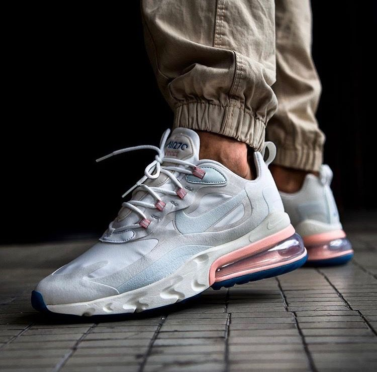 Nike Air Max 270 React | Sneakers fashion, Buy sneakers ...
