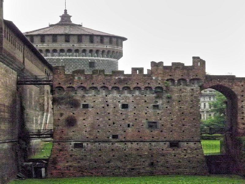 Sforzesco Castle, Milan Italy