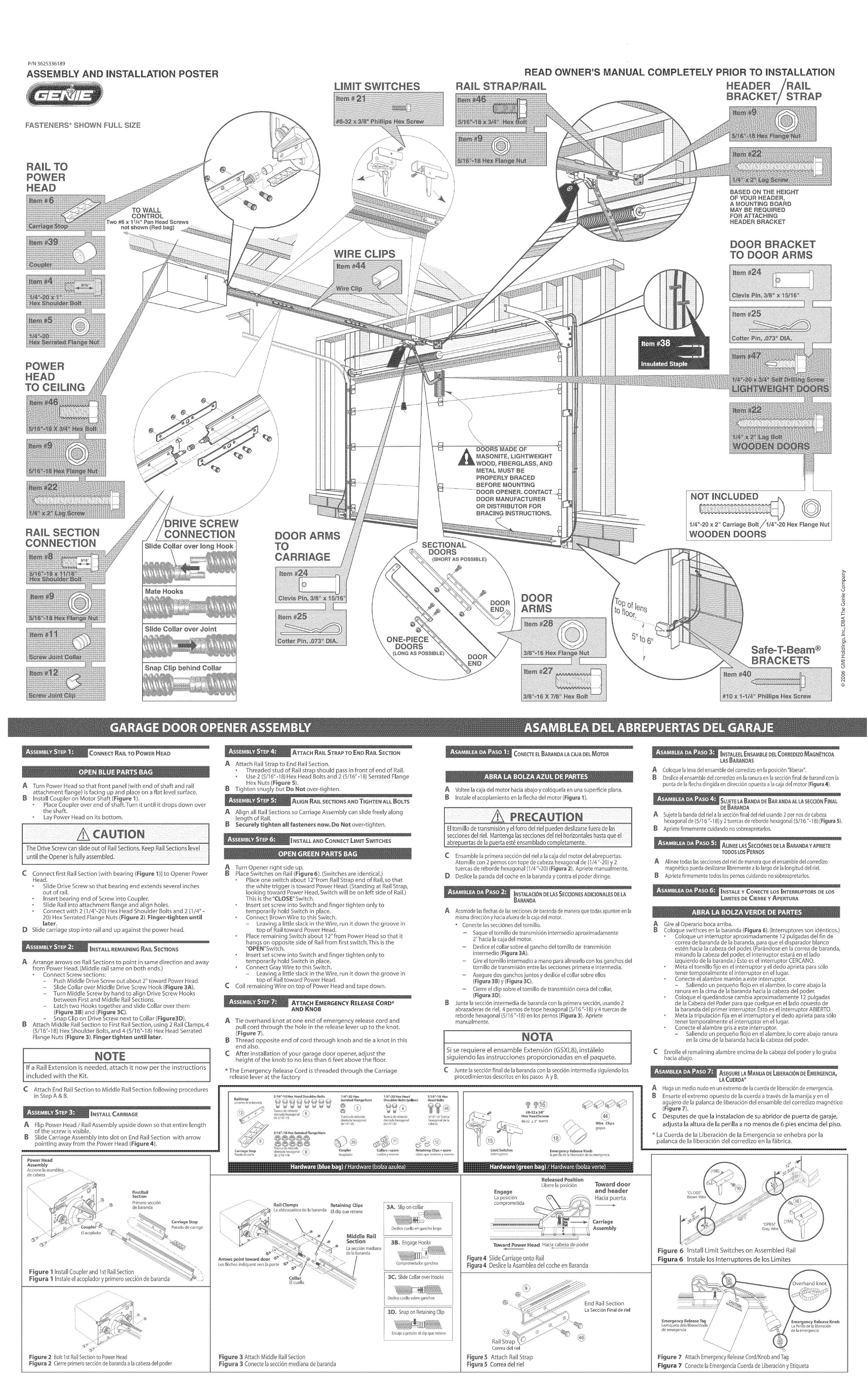 genie garage door opener troubleshooting guide http voteno123 rh pinterest com au Genie Garage Door Opener Manual Genie Garage Door Opener Programming
