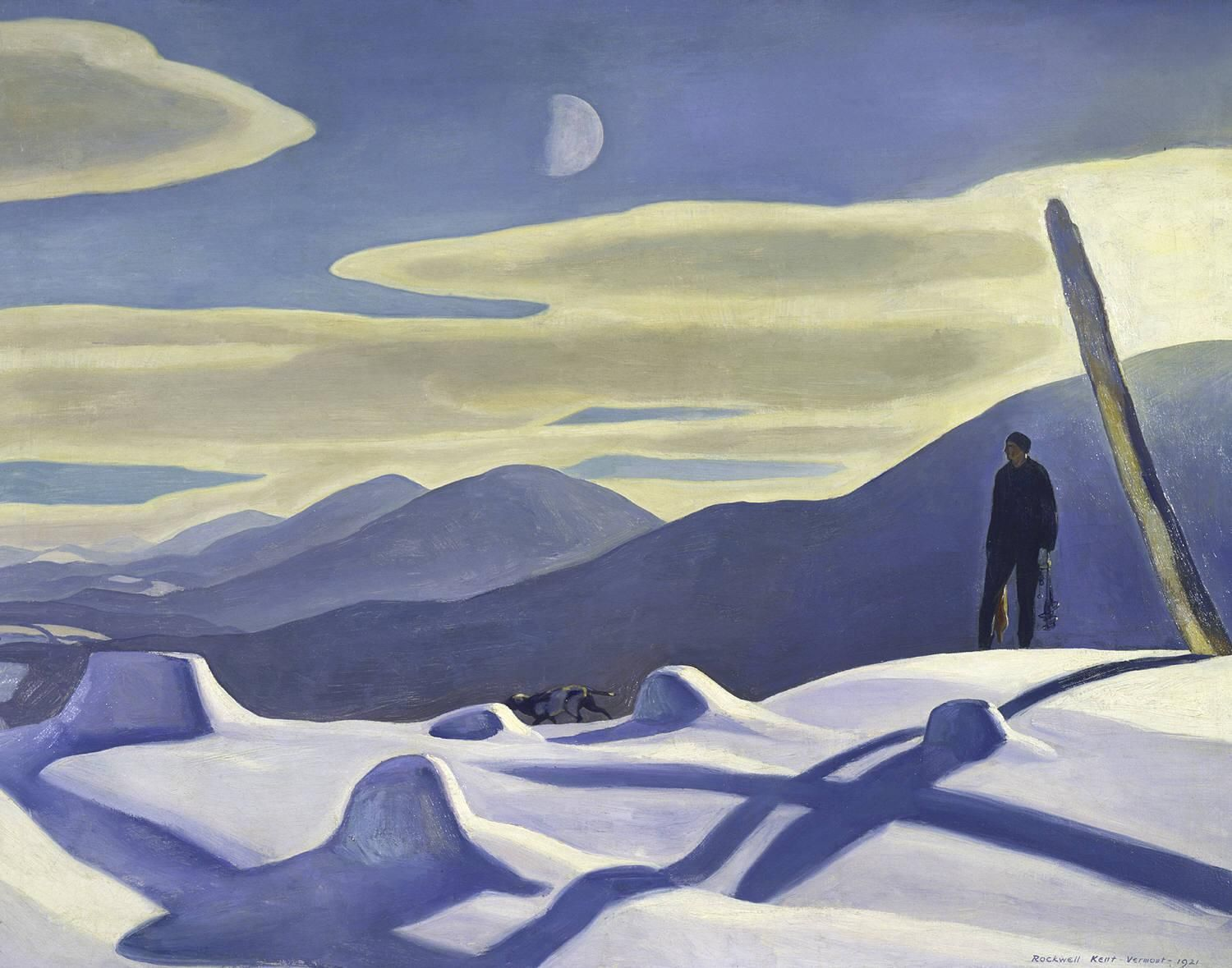 Rockwell Kent - The Trapper (1921)