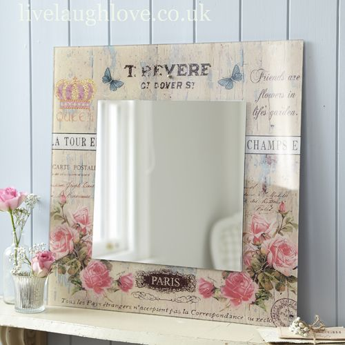 Carte Postale Square MIRROR -Paris £49.95 | decoupage | Pinterest ...
