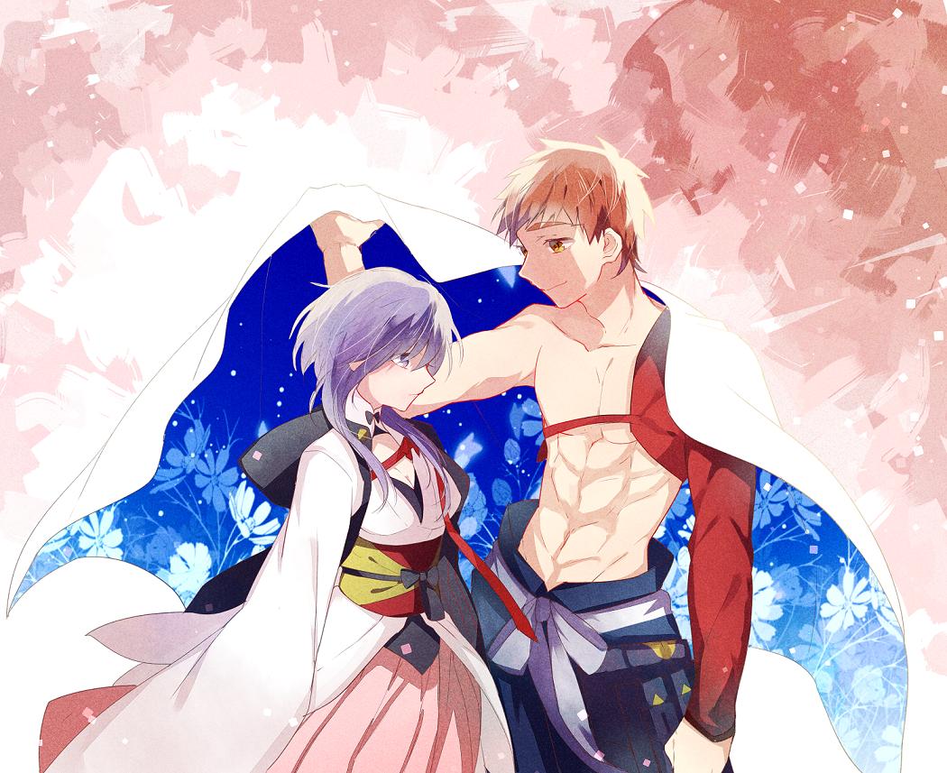 Shirou Emiya Sakura Matou Fate Grand Order Animasi Gambar