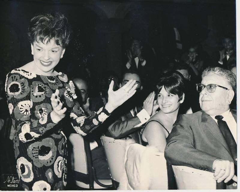 Judy Garland At The El Patio Night Club In Mexico City, 1966.