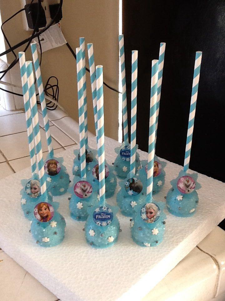 Disney frozen cakepops cake pops pinterest kuchen kleiner kuchen und eisk nigin geburtstag - Cake pops 50 geburtstag ...
