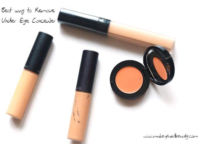 Best Way to Remove Under Eye Concealer | Concealer, Under ...