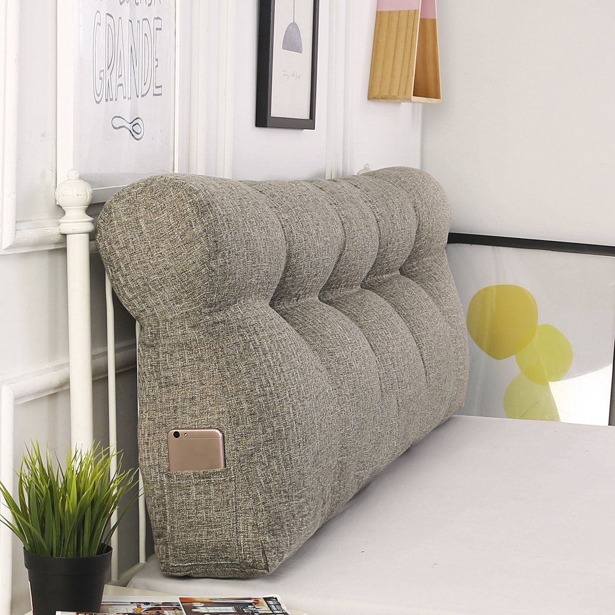 bed backrest daybed pillows