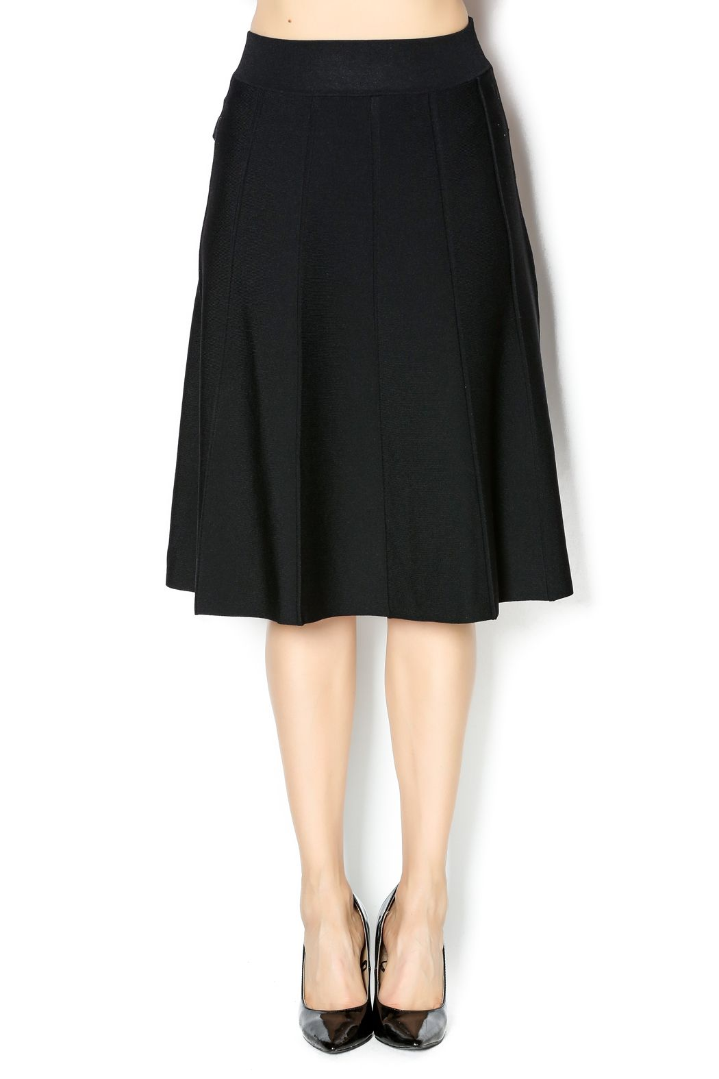 2019 year for lady- How to jersey a wear knit skirt