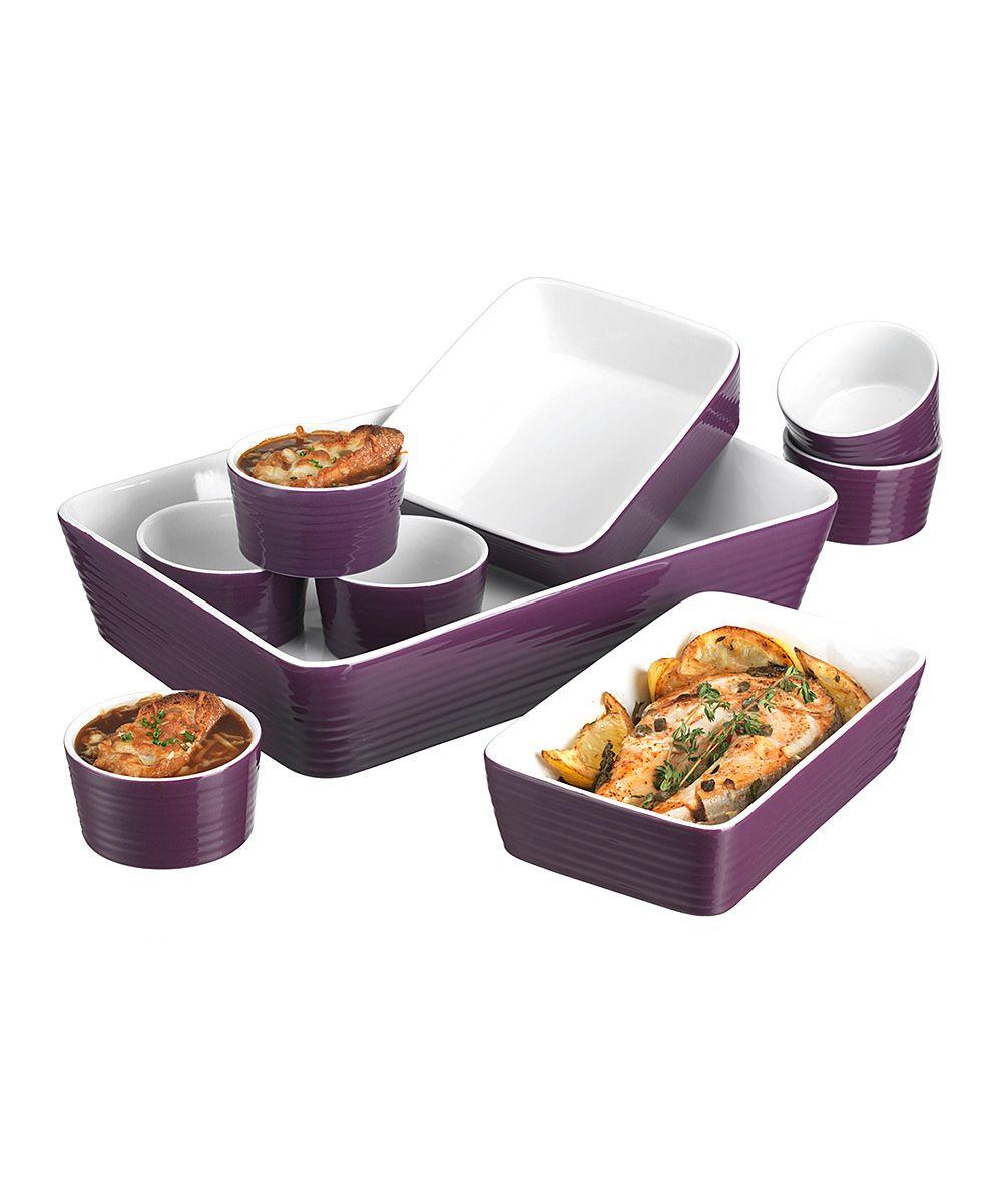 Purple 9 Piece Bakeware Set It S Purple Purple Bakeware