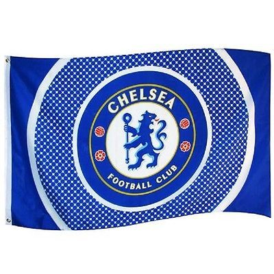 #Chelsea football club flag  5ft x 3ft cfc #stamford #bridge the blues ,  View more on the LINK: 	http://www.zeppy.io/product/gb/2/181839353298/