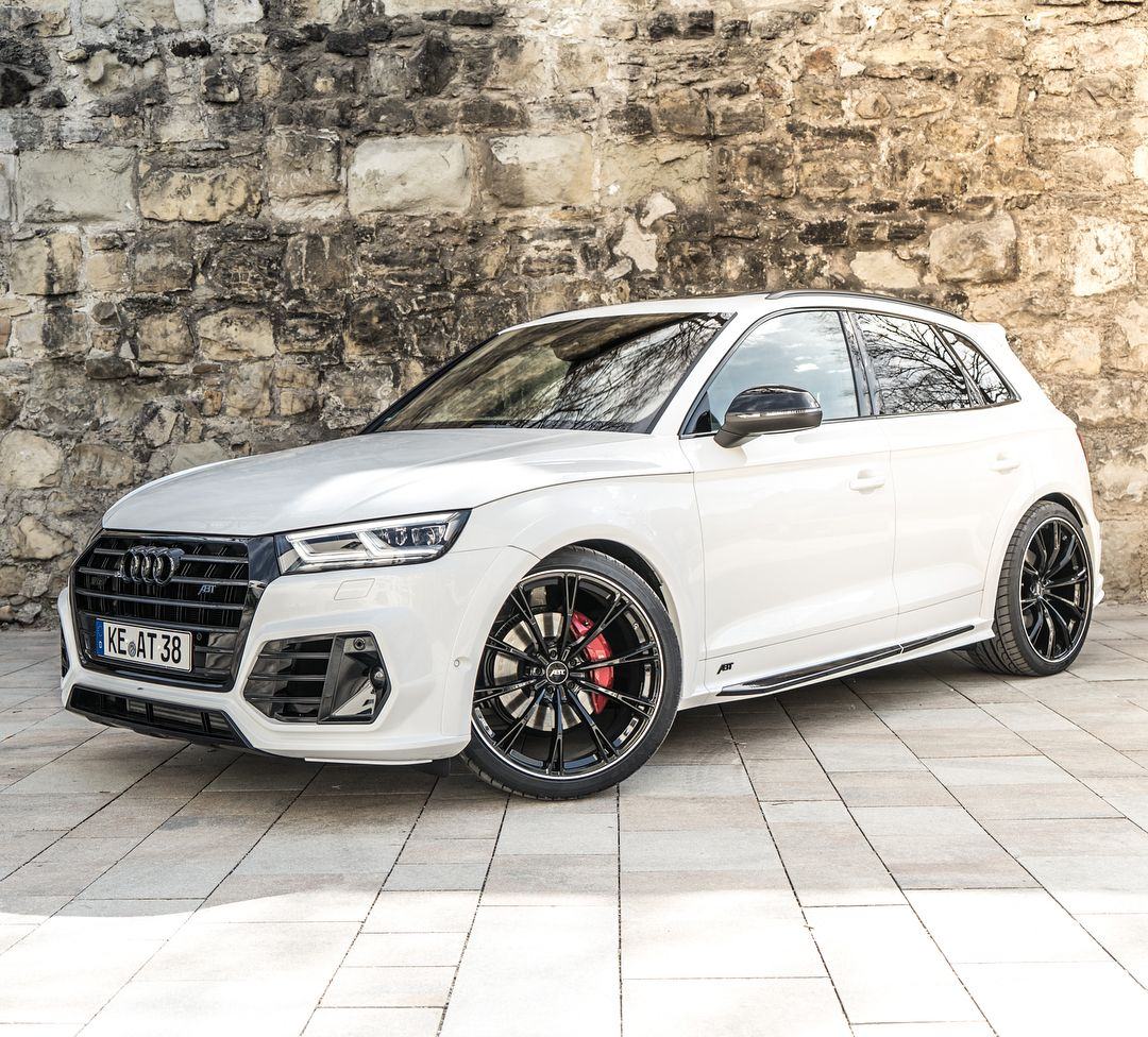Black And White Abt Sq5 Widebody Abt Audi Sq5 Audisq5 Tuning