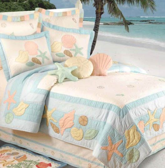 beach house bedding sale harbor collection uk our pastel shells quilt pillow shams accessories capture essence