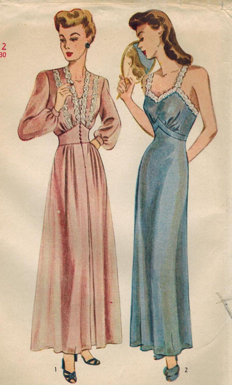 Sew Something Vintage 1940s Fashion: Pin On Vintage Lingerie
