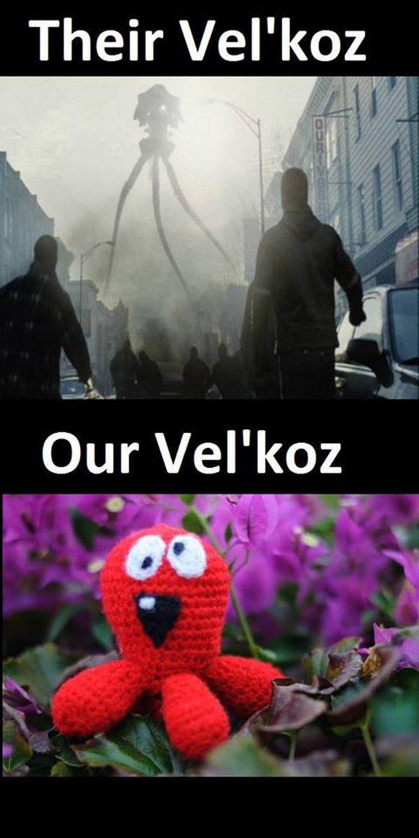 League of Legends : Our Vel'koz | Their Vel'koz
