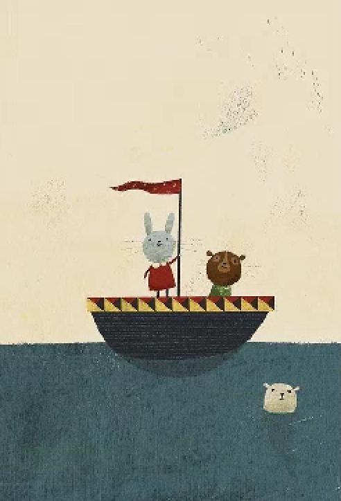 Boat Illustration, Character Illustration, Animal Illustrations, Richard  Jones, Character Design, Transportation, Whimsical, Boats, Libraries