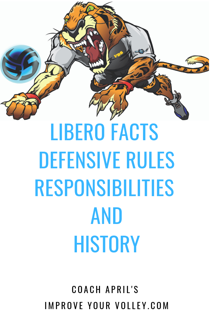 Volleyball Libero Facts Defensive Rules Responsibilities And History Volleyball Libero Volleyball Volleyball Positions
