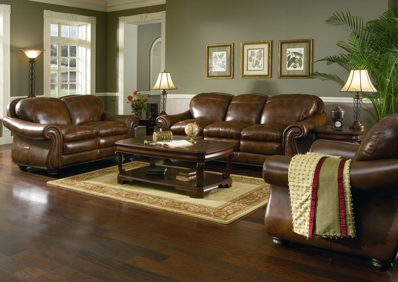 Best 25 brown leather sofa bed ideas on pinterest brown for Brown couch living room