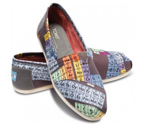 Periodic table of elements shoes geeknerd on brotha periodic table of elements shoes urtaz Choice Image