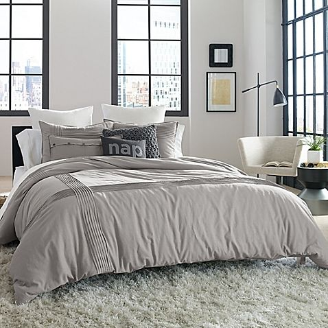 Kenneth Cole Reaction Home Structure Full Queen Duvet Cover In