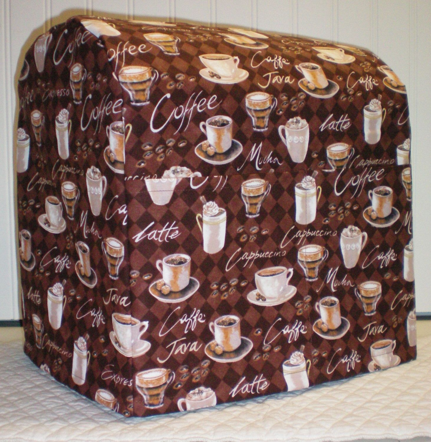Coffee cups cover compatible with kitchenaid stand mixer