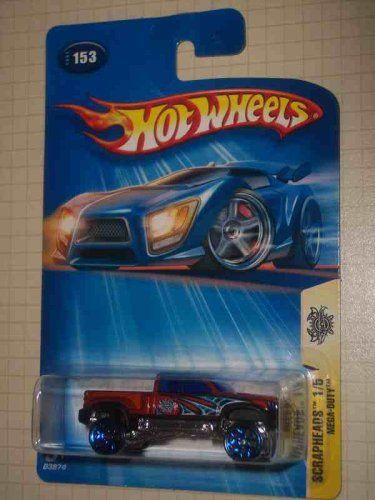 Scrapheads #1 Mega-Duty Y5 Wheels #2004-153 Collectible Collector Car Mattel Hot Wheels
