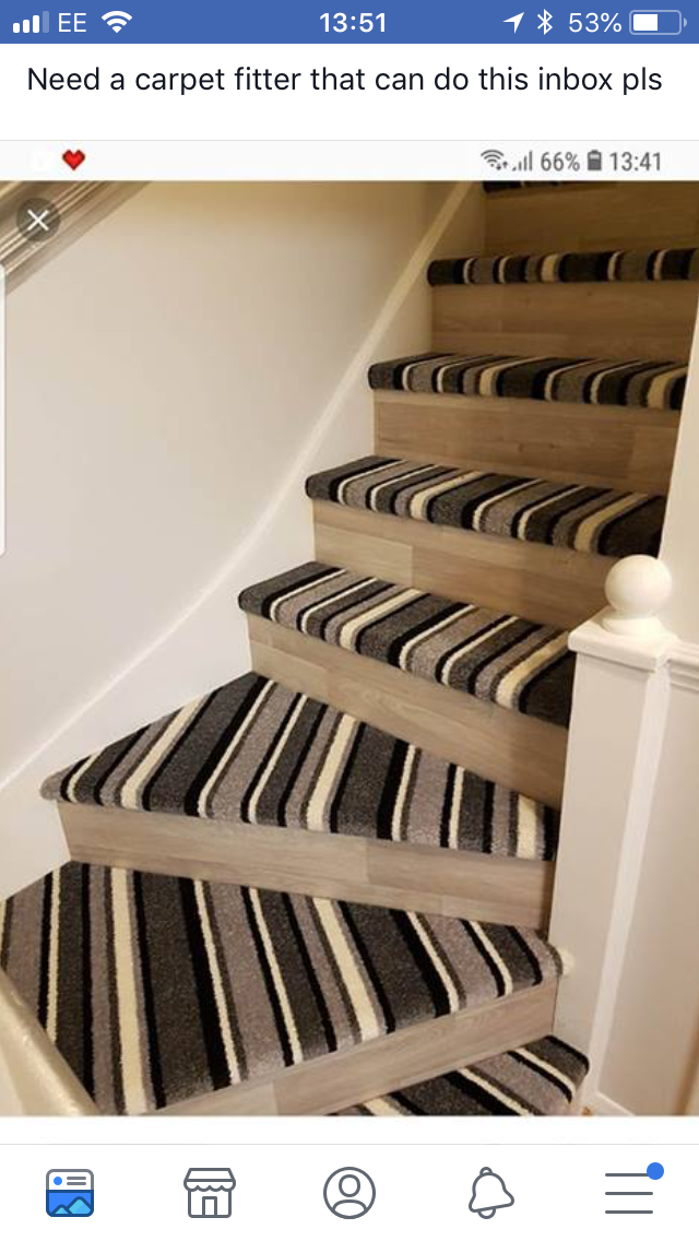 Best Pin By Amy Stubbins On Hallway With Images Wood Stairs 640 x 480