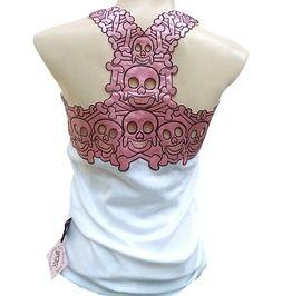 8a24f7f1be876a Rockabilly Punk Rock Baby Tattoo Tiki Skull Tank Top Shirt S M L Xl ...