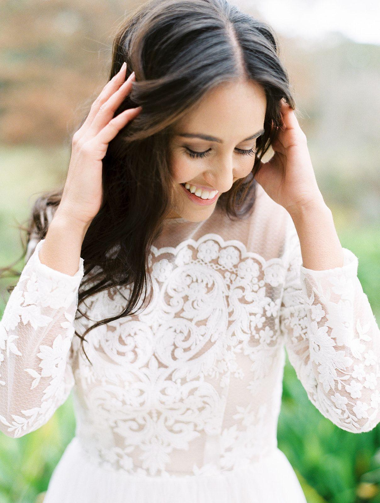 Michelle Cato Bride portrait photography, Bride portrait