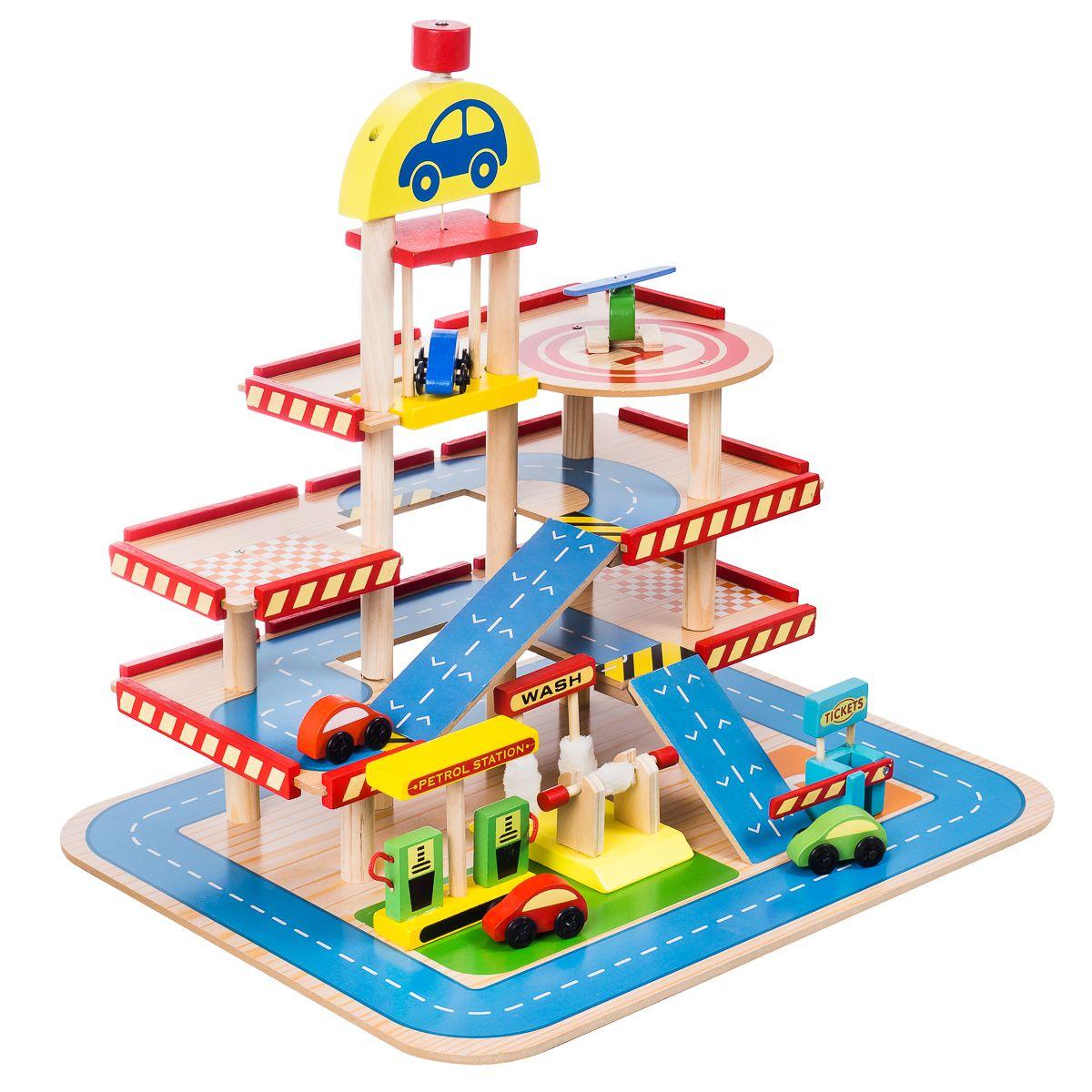 Duzy Drewniany Garaz Parking Dla Dzieci Winda Auta 7845275671 Allegro Pl Peg Jump