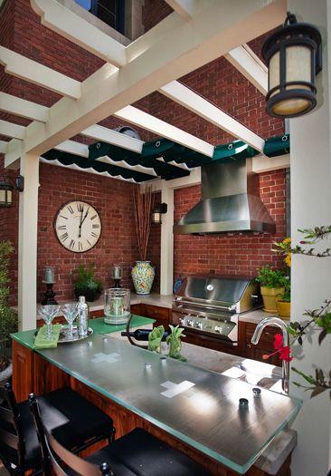 Outdoor Kitchen. Pasadena Showcase House Of Design 2012