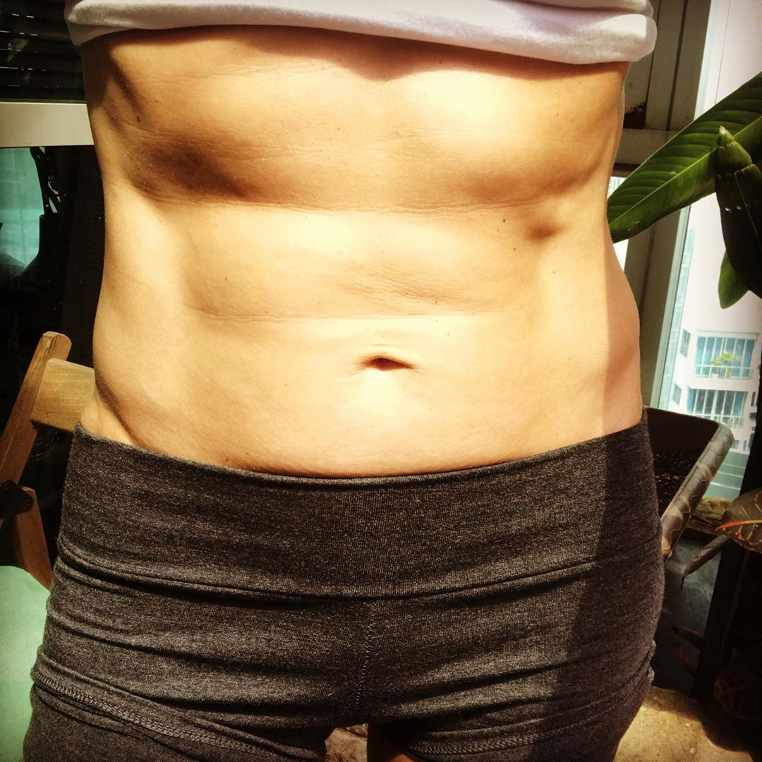 Dear ABS, I may not see you but I feel you brewing something serious. Can't wait to meet you. I prom...