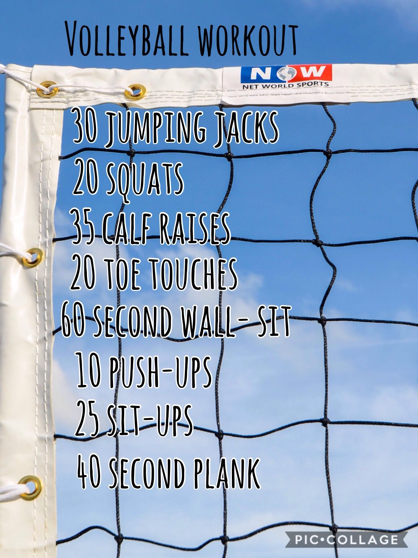 Here S A Great Workout For Vball Players Volleyball Workouts Volleyball Skills Volleyball Training