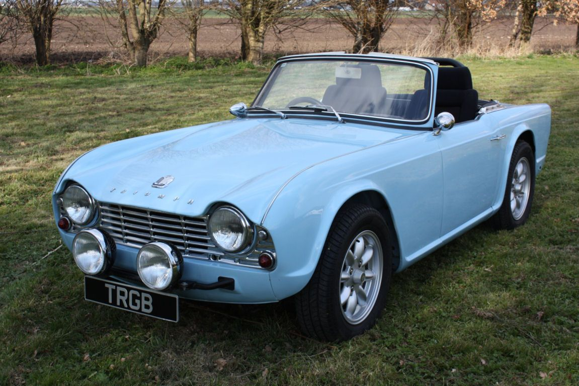 TRIUMPH TR4 FOR SALE | Classic Cars, Hot Rods and Bikes | Classic