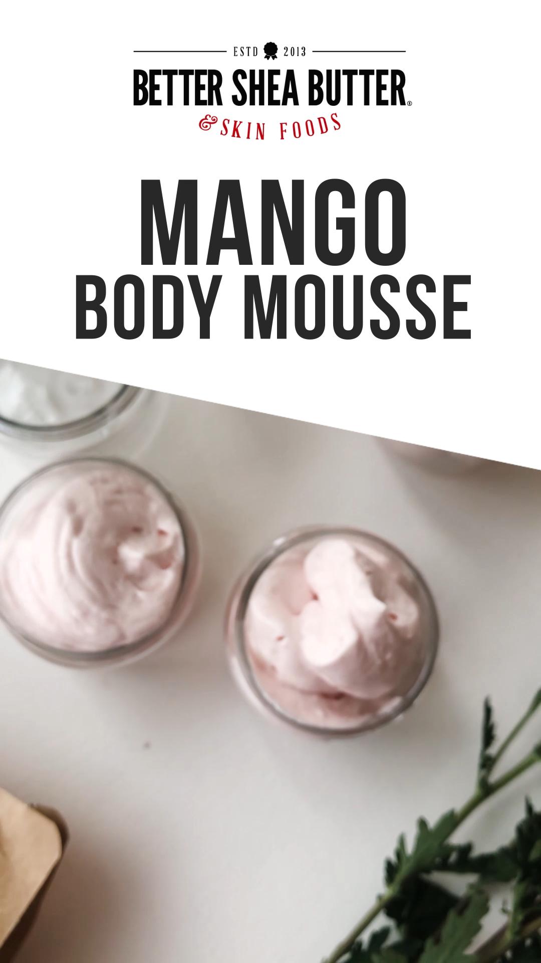 Photo of DIY Fluffy Mango 🥭 Body Mousse – Treat Your Skin 🥰