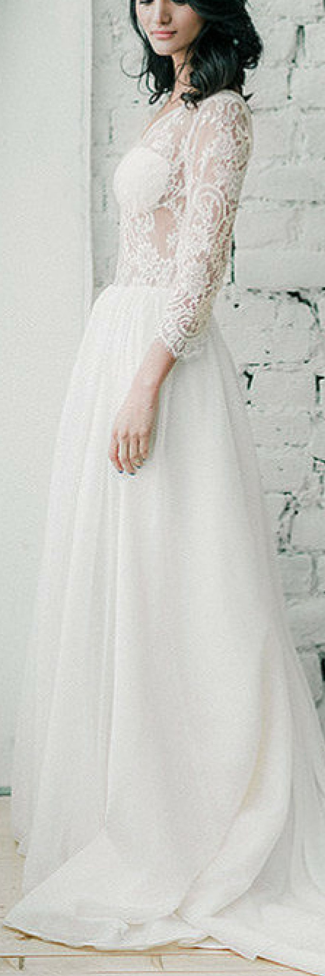 Where to find long sleeve wedding dresses  Tasmin  Long sleeve wedding dress  Bohemian wedding dress
