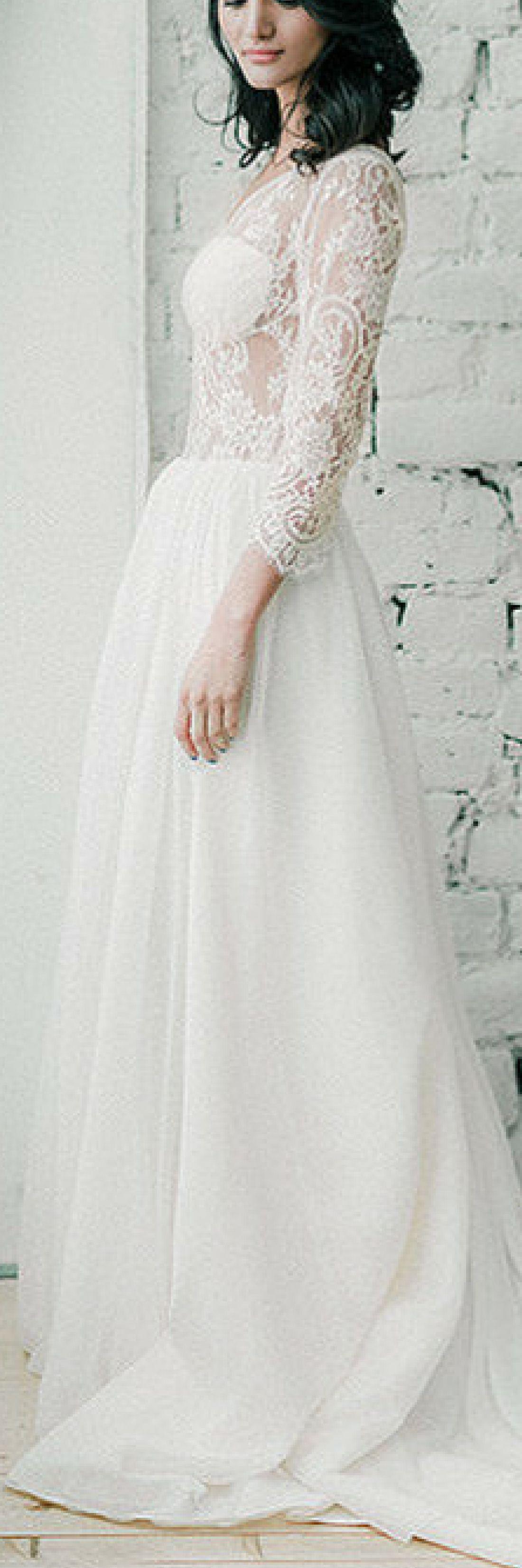 Tasmin  Long sleeve wedding dress  Bohemian wedding dress
