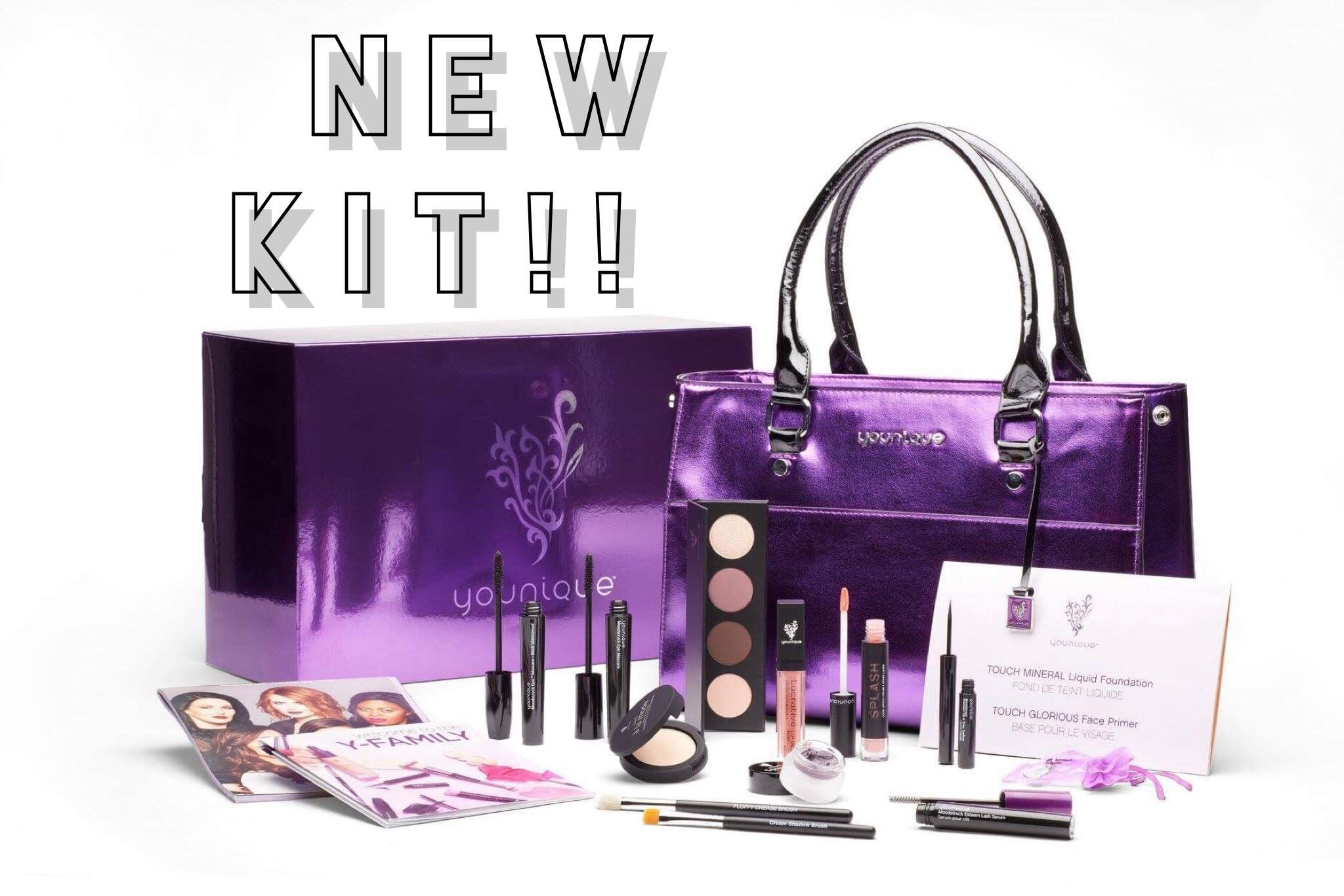 The new January 2019 presenter kit, 99 younique makeup
