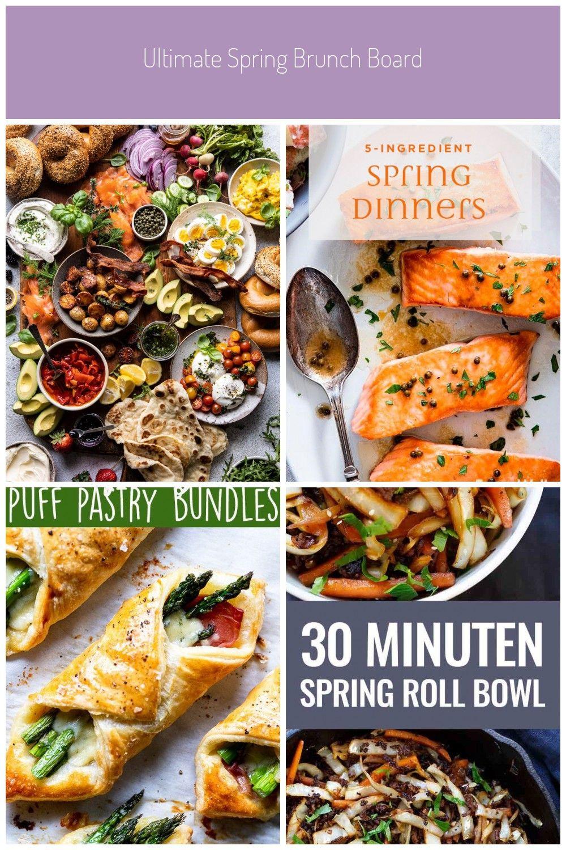 Ultimate Spring Brunch Board  food Ultimate Spring Brunch Board