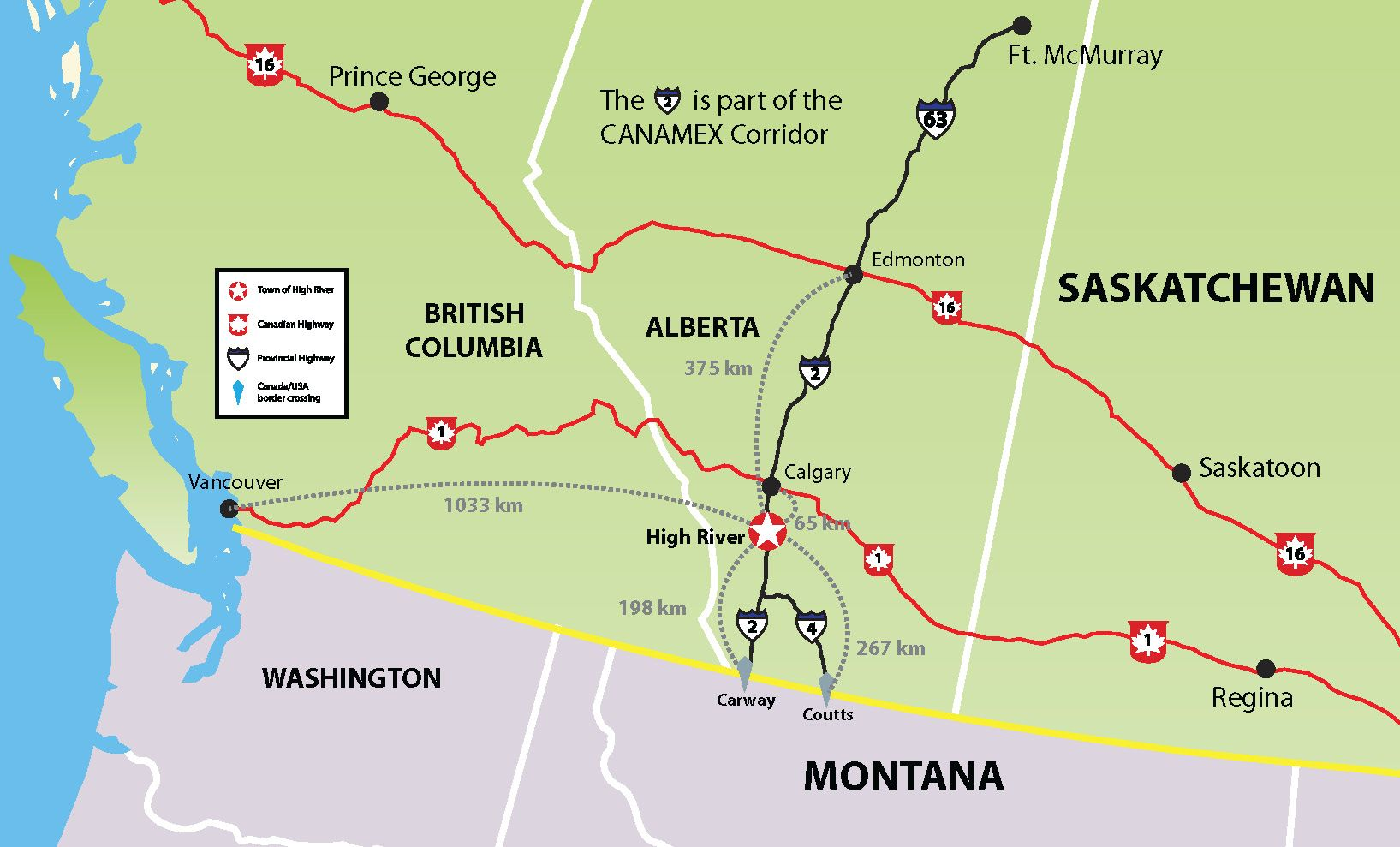 High River Alberta Canadas location in North America junket