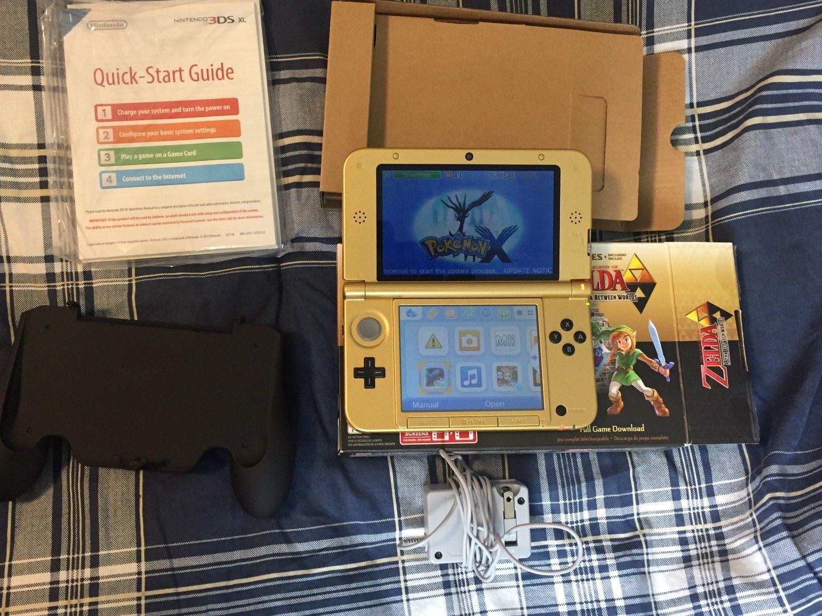 Pristine Nintendo 3ds Xl Loz Special Edition 34 92 E Shop 5