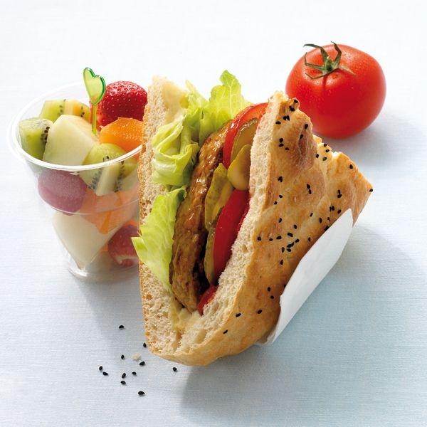 hamburger op turks brood weightwatchers wwrecept healthy food and exercise pinterest. Black Bedroom Furniture Sets. Home Design Ideas