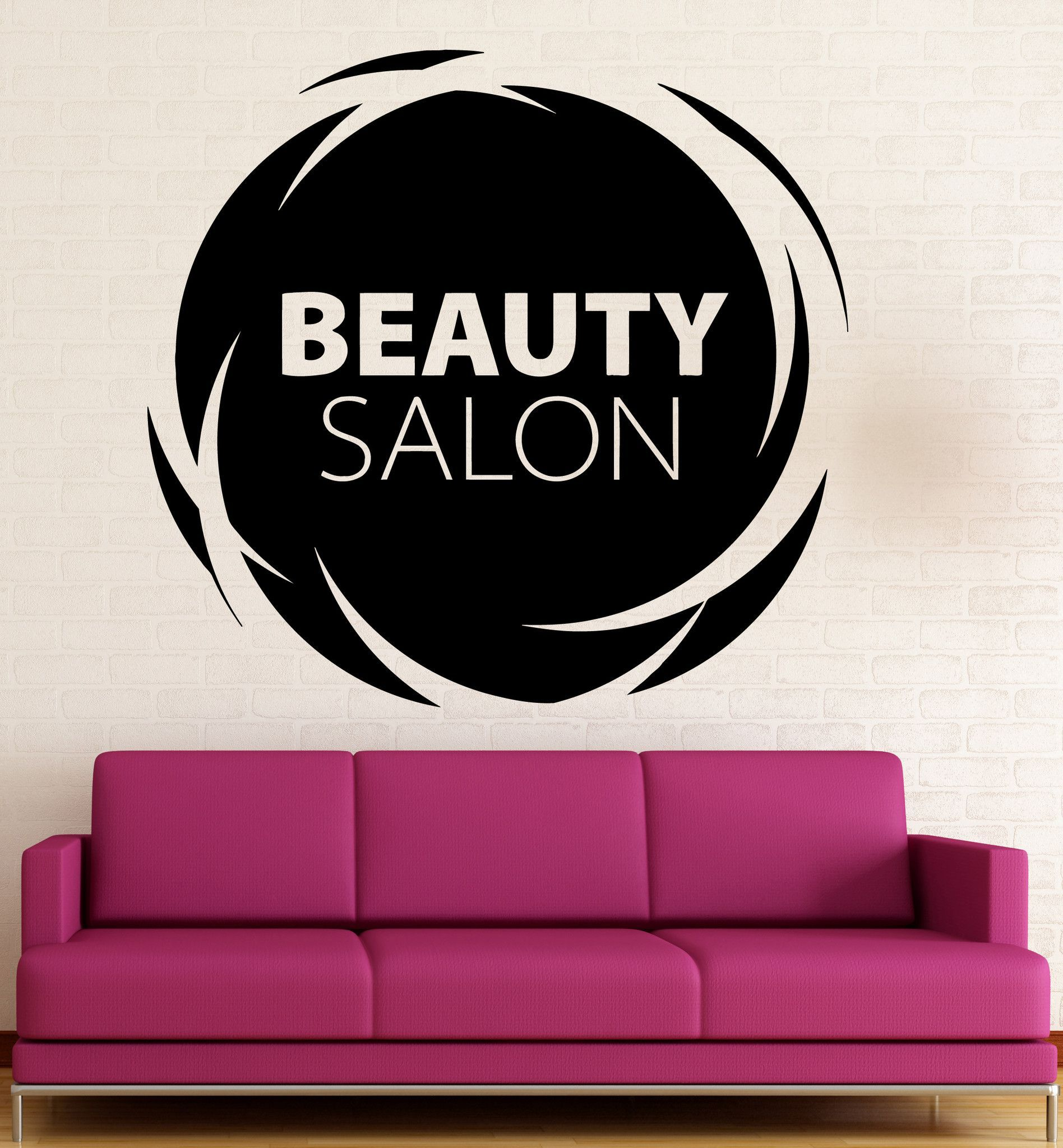 vinyl decal beauty salon quote wall sticker hair spa woman salon vinyl decal beauty salon quote wall sticker hair spa woman salon logo barbershop ig2453