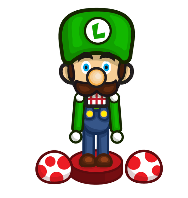 Luigi Clip Art