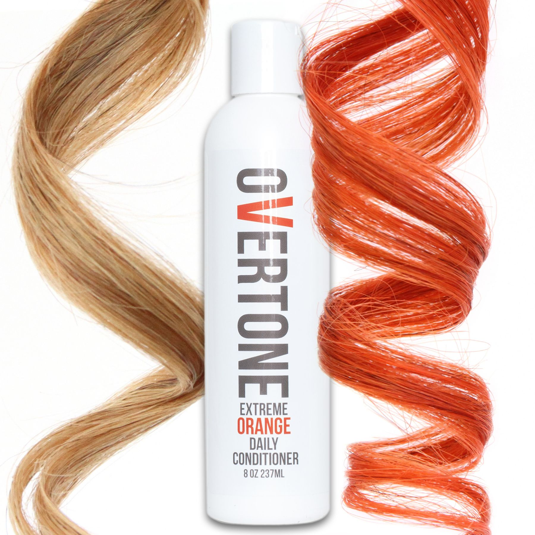 Extreme Orange Daily Conditioner Hair Dye Shampoo Medium Blonde