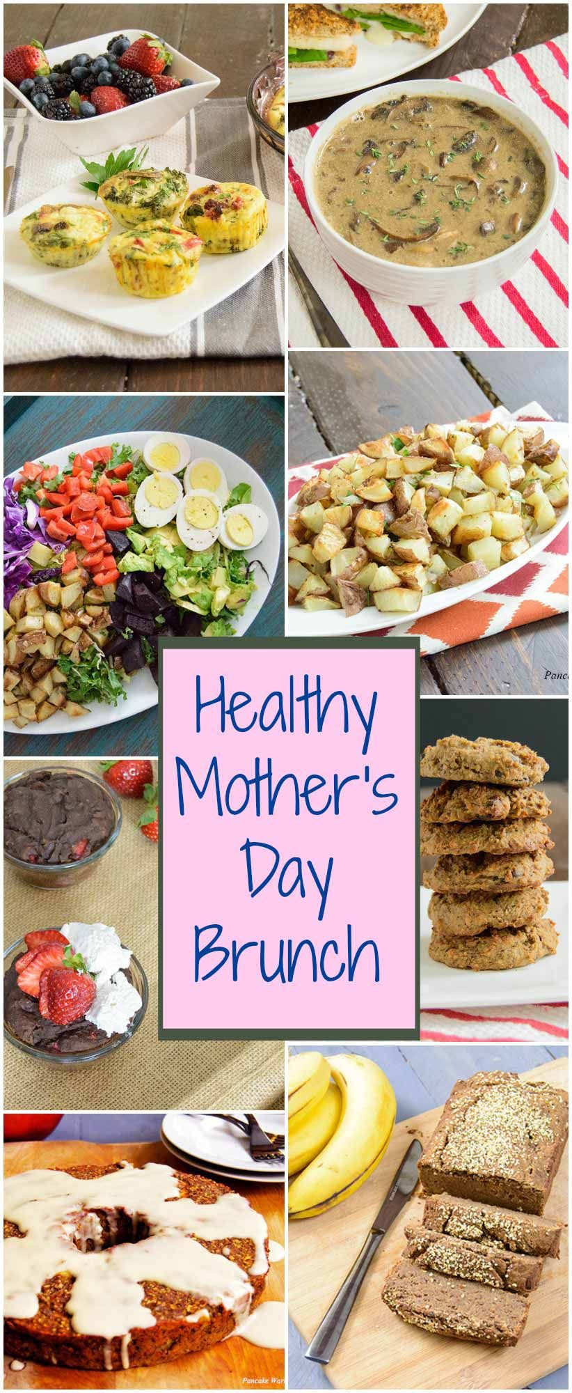 Mother's Day Brunch Ideas - healthy brunch ideas that can be made ahead of time   www.PancakeWarriors.com